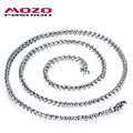 Wholesale new fashion jewelry titanium steel single chain available in six sizes for men / women fine necklace accessory MGL324