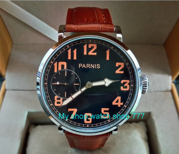 46mm parnis Black dial Asian 6497 17 jewels Mechanical Hand Wind movement men watch luminous Mechanical watches zdgd193a an investigation into food consumption patterns