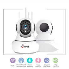 KEEPER HD 1 0MP 720P Wireless IP Camera Video Surveillance Security WiFi P2P With PTZ Motion