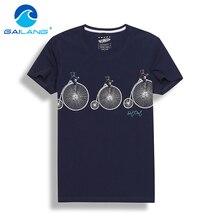 Gailang Brand 2017 Summer Fashion Men T Shirt Cotton Short Sleeved Casual T-Shirt Print Men's clothing tops tees O Neck Tshirts