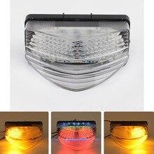Per 01-03 Honda CBR600 F4i CBR 600 FS LED Posteriore Luci di coda Freno Indicatori di direzione Indicatore Integrato Lampade 2001 2002 2003