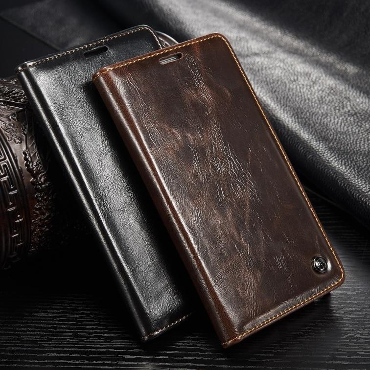 Eredeti CaseMe luxus bőr tok Samsung Galaxy S8 / S8 Plus borítós - Mobiltelefon alkatrész és tartozékok