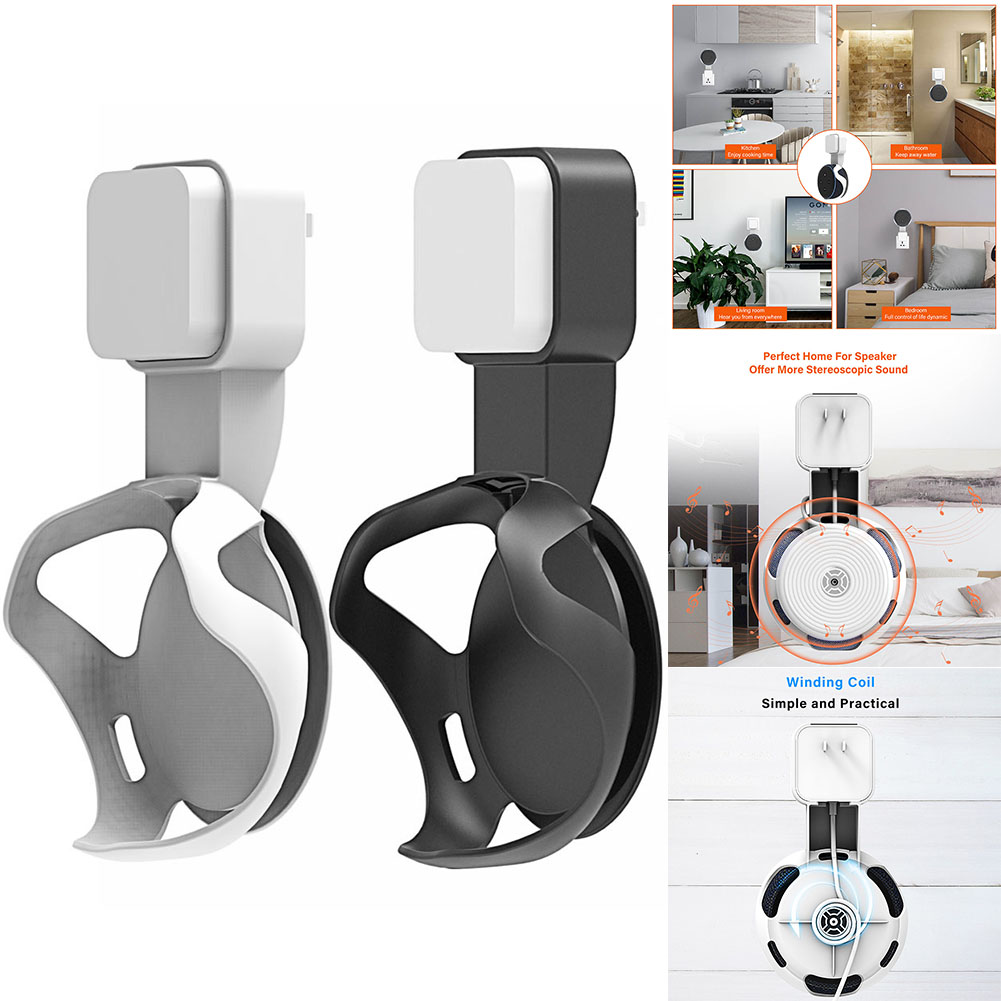 1 Pcs Socket Wall Mount Hanger Stand Plug for Dot 3 Generation Home Kitchen Bedroom SP99 in Speaker Accessories from Consumer Electronics