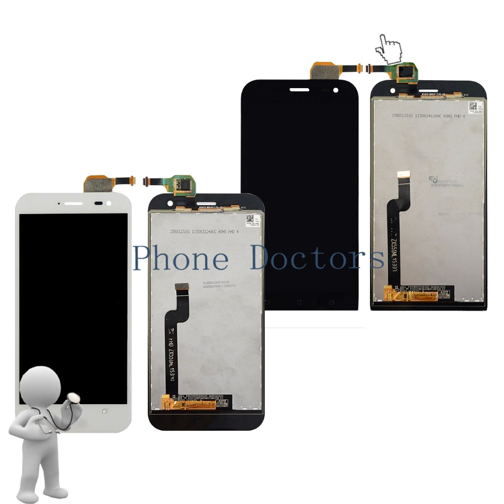 5 5 inch Full LCD DIsplay Touch Screen Digitizer Assembly For Asus ZenFone Zoom ZX551ML Z00XSC