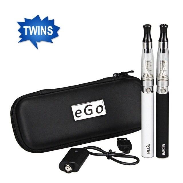 Оригинал эго ce4 электронная сигарета 2 шт./упак. 1100 мАч Я CE4 электронной сигареты Starter Kit Vape поддержка Напоминающий Питания индикатор