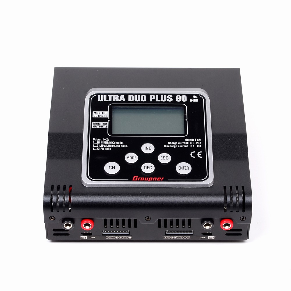 Graupner Ultra DUO Plus 80 1000W (2 x 500W)  RC Charger  Graupner Free Shipping cat duo miles 500