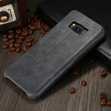 X-Level Vintage Series Flip Case for Samsung Galaxy S8 S8Plus