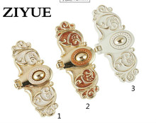 2PCS Lot Free Shipping Handle Free European Chamfer Amber Red Ivory White Ambry Door Handle