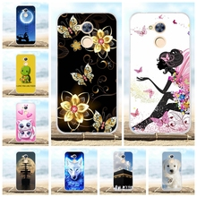 5.0 Huawei Honor 6A Case Silicone Cover Pro Patterned Protective Coque Funda Honor6A Phone Cases