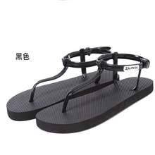 sandals women Roman sandals  women flat sandals and slippers T-clip slippers, summer beach flip sandals