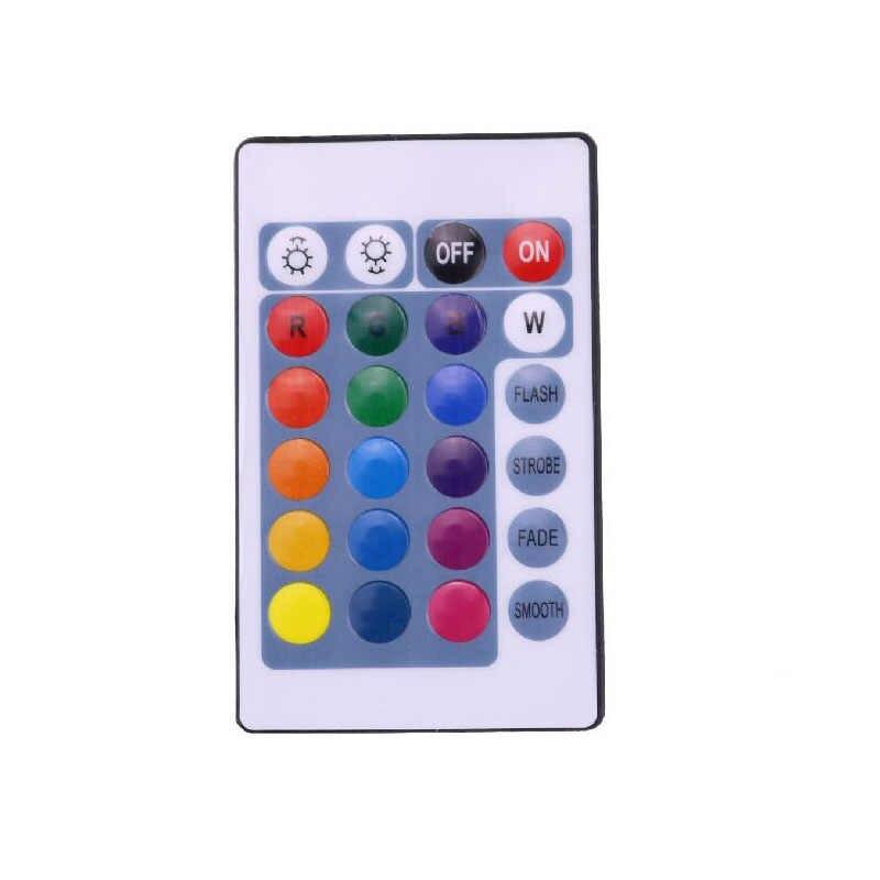 DC 12 V controlador RGB IR de las llaves 24 Control remoto 6A para SMD 3528, 5050, 5630, 3014, 5730 tira de LED luz cinta atenuador interruptor CE