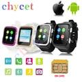3g bluetooth smart watch s83 android do sim do telefone wifi quad core 4 gb 3.0MP HD Câmera GPS FM para Android iOS Telefone Smartwatch U8 PK