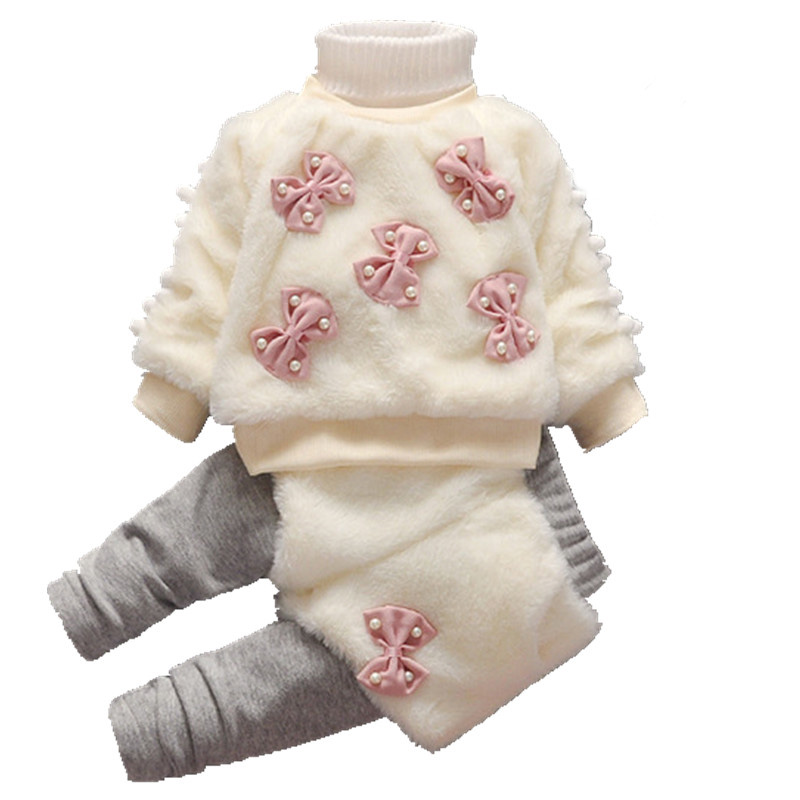 Baby Girls Winter Thicken Coat +Skirt Pants 2Pcs Girls Infant Kids Children Warm Christmas Snowsuit Faux Fur Toddler Clothes 148 аксессуар makita p 36186
