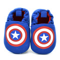 Baby Boy Shoes for Newborns First Walkers Infant Toddler Steps Prewalker Brand Shoes Captain of America Spring Autumn 2016 New