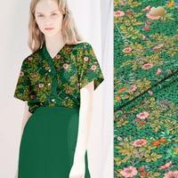 16mm digital printed silk fabric soft silk crepe de chine fabric drape silk fabric for dress wholesale silk cloth