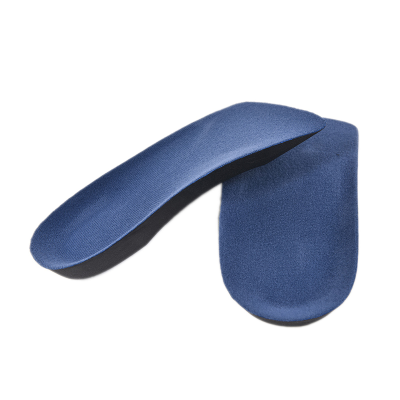 3/4 Length Orthotic Arch Support Shoe Pad Sports Fitness Running Camping Hiking Insoles Insert Cushion for Men Women