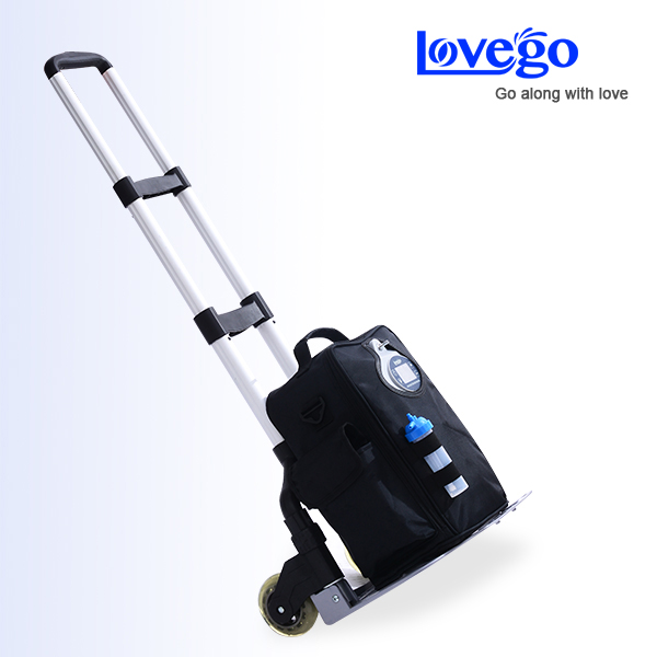 Oxygen cart for LoveGo portable oxygen concentrator LG101/LG102 oxygen