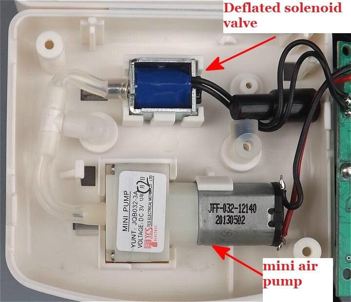 Комплект электронного монитора кровяного давления DIY/миниатюрный надувной насос/сливной клапан/емкостный датчик давления|pump pump|miniature pumppump kit | АлиЭкспресс