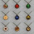 Gryffindor Slytherin Hufflepuff Ravenclaw College Logo Collar Mágico Película de La Vendimia Collar de La Joyería Para El Partido