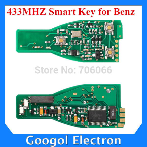 Oem for mercedes benz smart key 433mhz without key shell for How to unlock mercedes benz without key