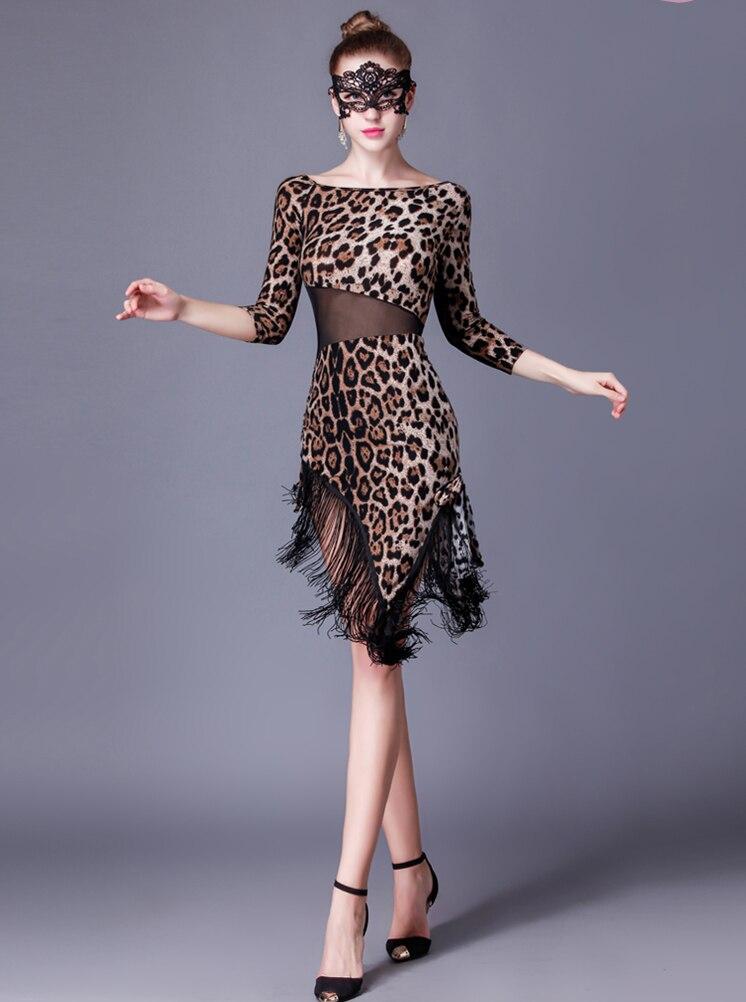 Latino plesna haljina Seksi svilenkasta rese od gaze Djevojke Fringe - Umjetnost, obrt i šivanje