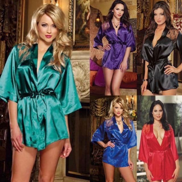 6ca9ade31c Women Lace Sexy-Lingerie Nightwear Underwear G-string Babydoll Sleepwear  Dresses