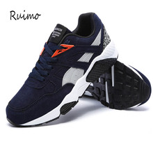 Sneakers Running Shoes Men Shoes Rubber Sole Trend of Leisur