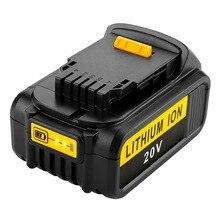 NEW 2X 6000mAh 20V Battery For Dewalt Replacement for DCB200 DCB181 DCB183 DCB182 DCB204-2 Li-ion