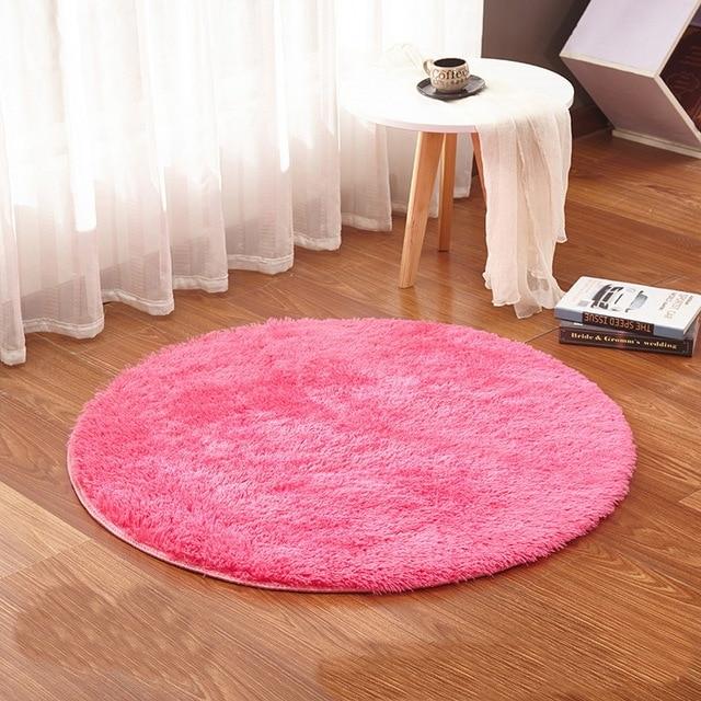 Runde Teppich wassermelone rot runde teppich teppiche wohnzimmer kelim faux
