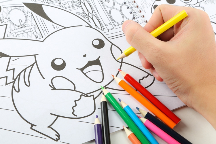 pikachu pokemon go cartoon drawing painting paper notebook spiral book kids girl boy giftschina - Drawing Books For Boys