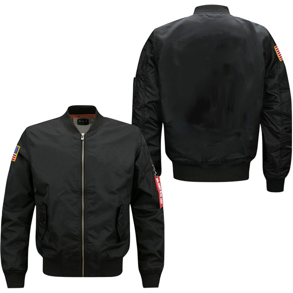 2017 new hot sell Bomber flight jacket free designs USA SIZE DROPSHIPPING