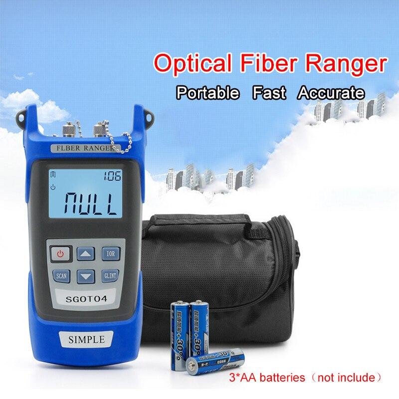 Aletler'ten Devre Kesici Bulucular'de Fiber optik Ranger Görsel Hata Bulucu Reflectometer SM 60 KM Arıza Optik Fiber Optik Test Cihazı Mini Precio Fiyat OTDR
