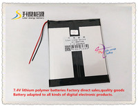 7 4V 6000mAH 3897108 Polymer Lithium Ion Li Ion Battery For Tablet Pc Cell Phone POWER