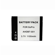 For Hero 2 1 1100mAh Replacement Li-ion Battery Pack AHDBT-001 For Gopro Hero 2 1 Sport Action Camera DV Rechargeable Batteria