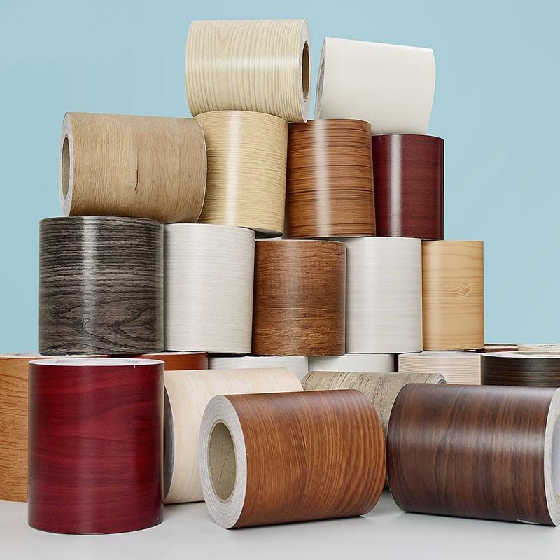 Wall-Stickers Skirting Door-Frame Baseboard Waterproof PVC Self-Adhesive Wood Waist-Line
