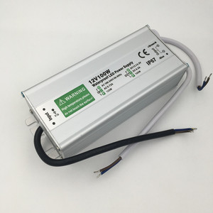 Image 4 - 50W 60W 80W 100W 150W Led Voeding Transformator Waterdicht IP67 Switch Driver 220V 110V Naar DC12V Voor Outdoor Lamp Verlichting