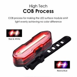 Image 5 - Zestaw latarni rowerowych LED MAX 1000lm przednie tylne światło rowerowe do rowerów latarka rowerowa T6 18650 lampka USB z możliwością ładowania MICCGIN
