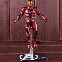 SHF Iron Man MK50 & Tamashi Bühne PVC Marvel Avengers Unendlichkeit Krieg Iron Man Mark 50 Action Figure Sammeln Modell spielzeug