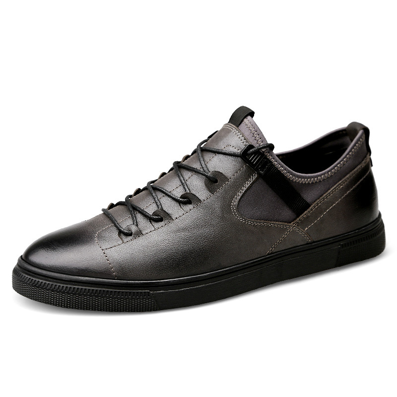 Handsome Classic Genuine Leather Mens Skateboarding Shoes Walking Youth Fall Sneakers Men Outdoor Sport basketball Shoes NewHandsome Classic Genuine Leather Mens Skateboarding Shoes Walking Youth Fall Sneakers Men Outdoor Sport basketball Shoes New