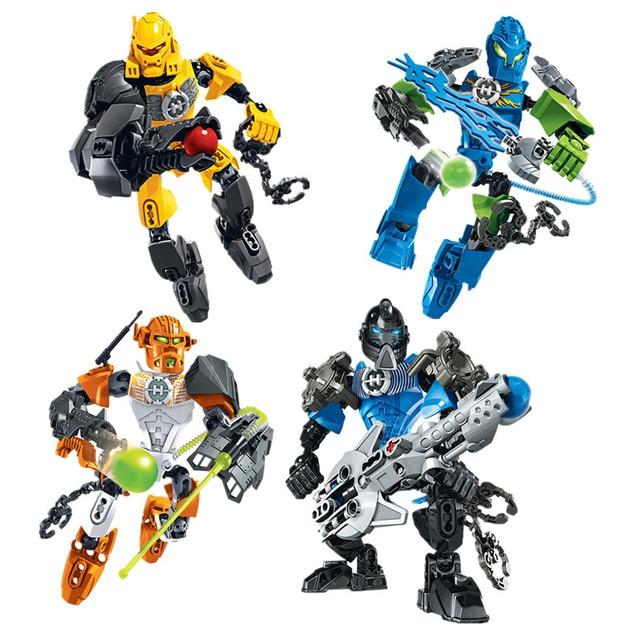 Bionicle Hero Factory 60 Warrior Soldiers Nex Surge Stringer Evo