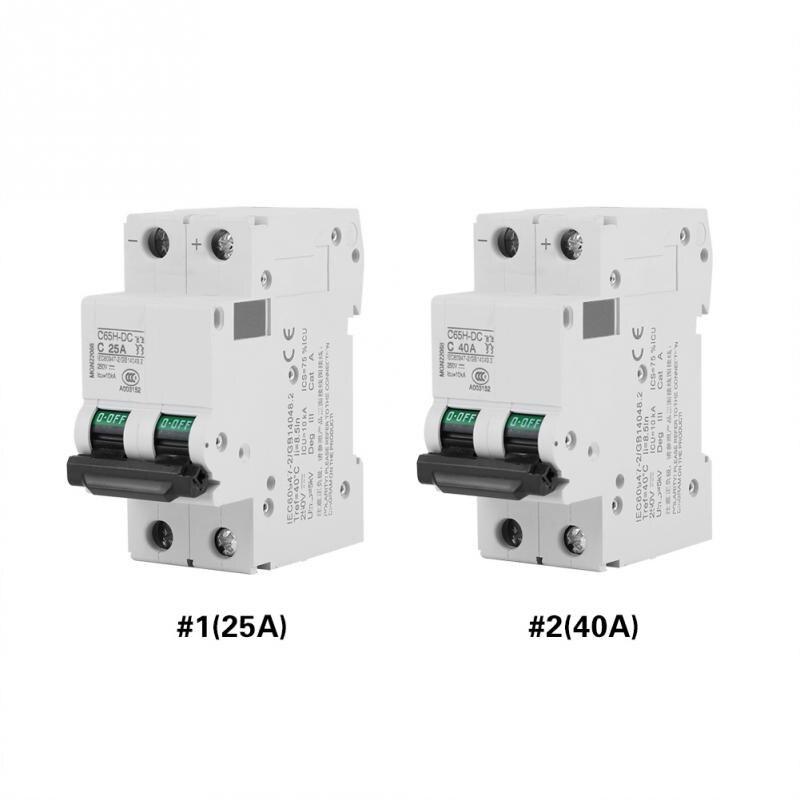 Low Voltage DC Circuit Breaker