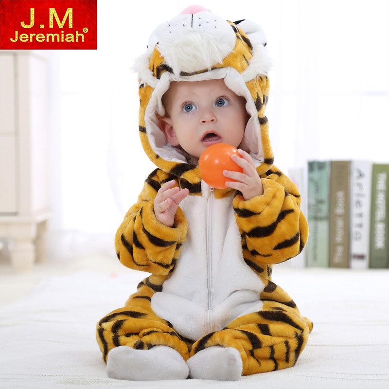 Baby Boys Girls Romper Infant Jumpsuit New born Bebe Clothing Hooded Toddler Baby Clothes Cute Cartoon Romper Baby Costumes newborn baby rompers baby clothing 100% cotton infant jumpsuit ropa bebe long sleeve girl boys rompers costumes baby romper