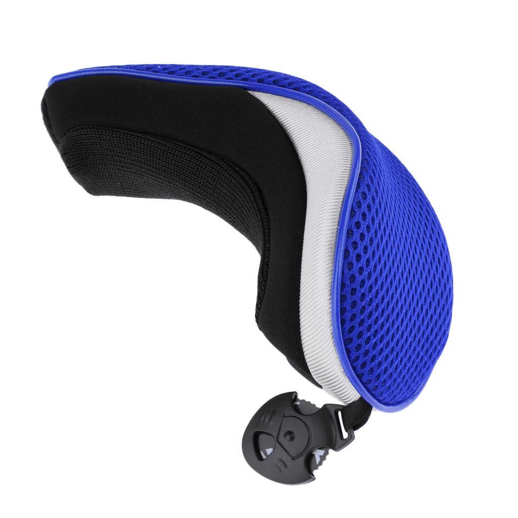 Гибридная насадка для клюшки для гольфа UT Клубная спасательная головка крышка головки клюшки для гольфа с номером бирки 2, 3, 4, 5, 7, X-различные цвета