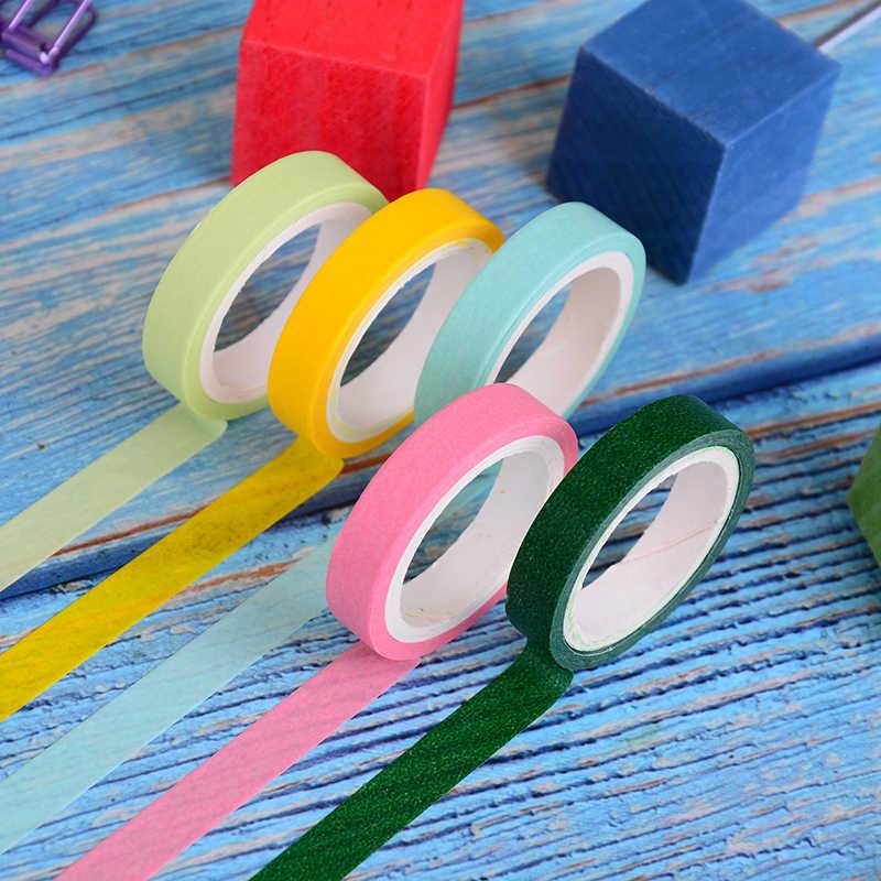 10 шт./кор. васи лента радуги Цвет маскировки васи Sticky Бумага клейкой ленты Стикеры DIY Скрапбукинг украшения
