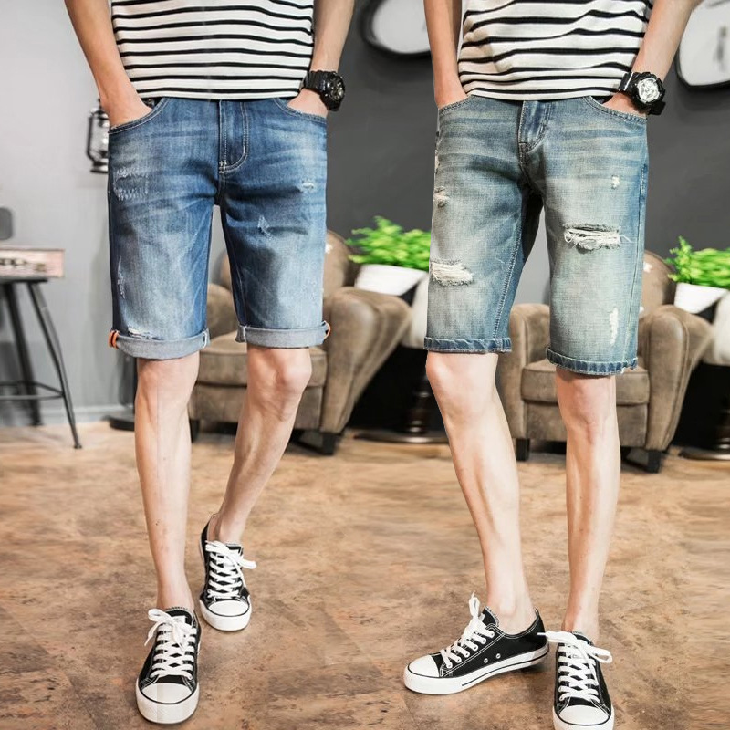 High Quality Denim Shorts Men-Buy Cheap Denim Shorts Men lots from ...