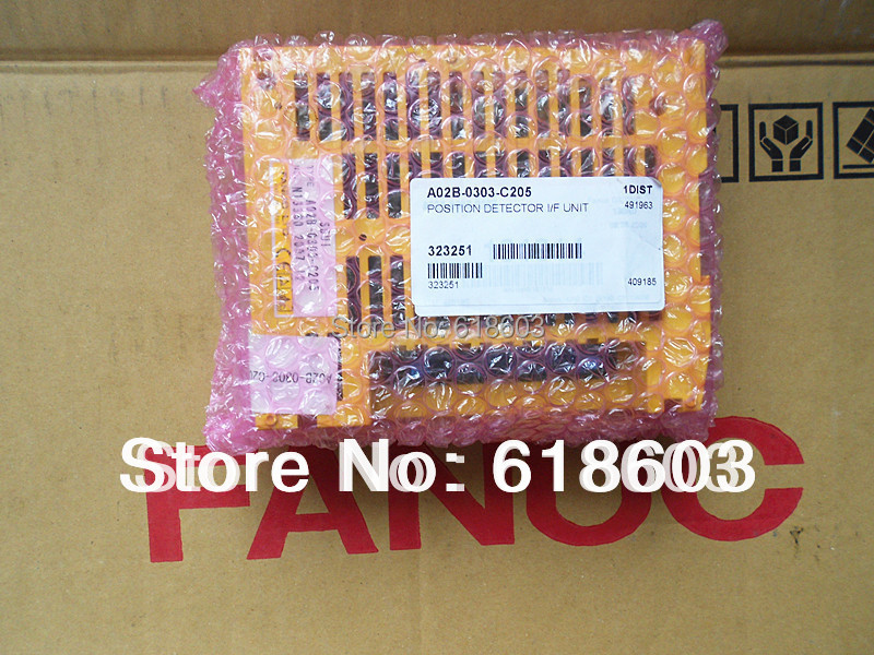 New and original I/0 board Fanuc  PCB  IO unit  a02b-0303-c205New and original I/0 board Fanuc  PCB  IO unit  a02b-0303-c205