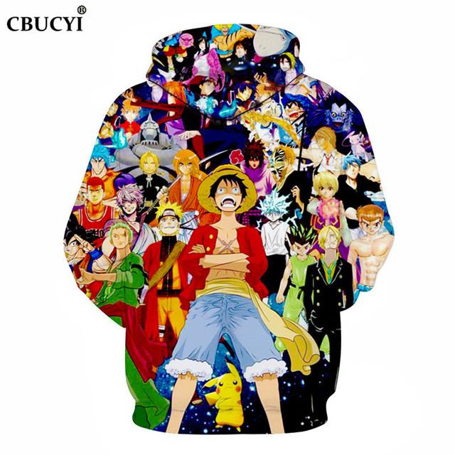 Anime All Star 3D Hoodies Men Sweatshirt Harajuku Hoodies Unisex 6XL Pullover Casual Tracksuit Brand Hoodie Male ahegao hoodie