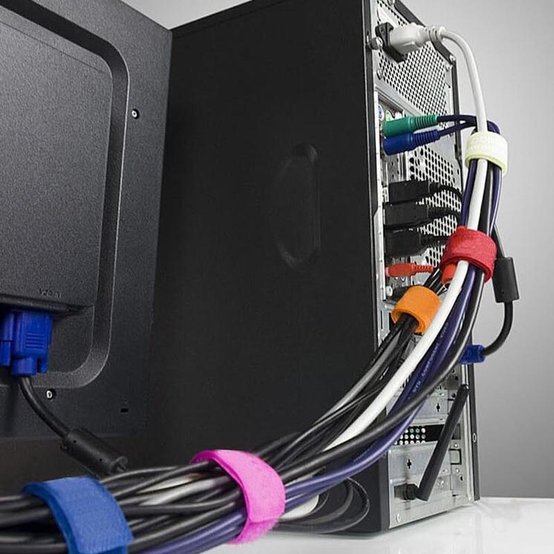 10pcs Lot Nylon Cable Ties Power Wire Strap Management