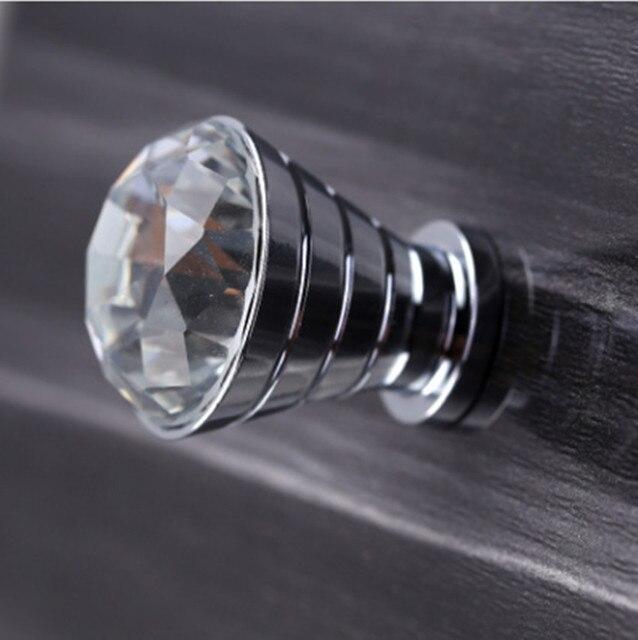 Moderne einfache glas kristall schublade tv schrank knöpfe zieht ...