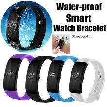 Умные браслеты Приборы для измерения артериального давления сердечного ритма Мониторы Водонепроницаемый Смарт часы браслет Фитнес трекер SmartBand Новый